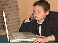 Chil with Computer