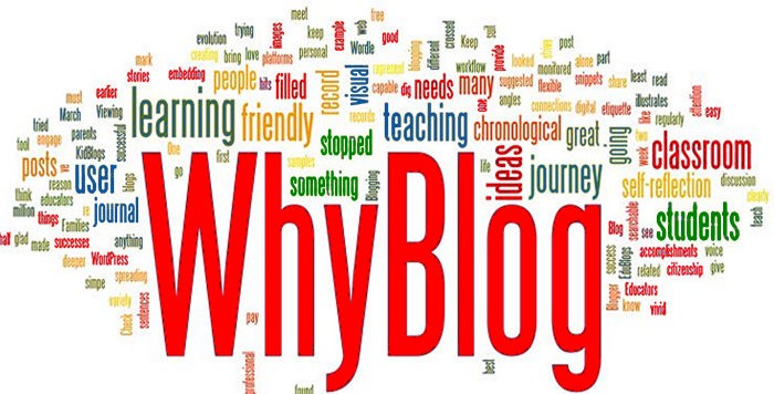 Reasons Why You Should be Writing a Blog